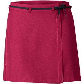 VAUDE Tremalzo II Skirt Women crimson red